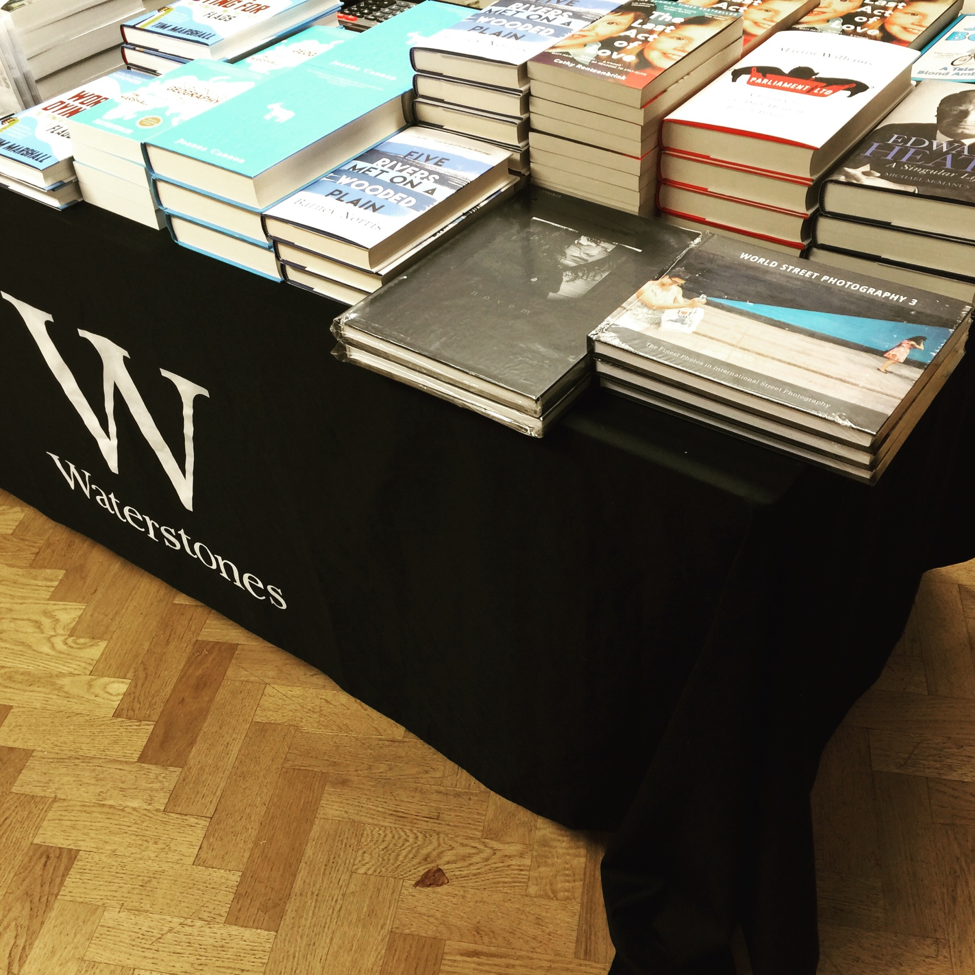 Stocked and sold at Waterstones bookstore London